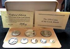 Cook Islands 1979 Proof Set - Franklin Mint - Box with COA