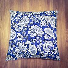 Handmade VB Lagoon Blue 100% Cotton Cushion Cover. Various sizes