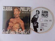 CD Single CLAUDIA PHILLIPS AND THE KICKS Quel souci la boétie ! 887353 2