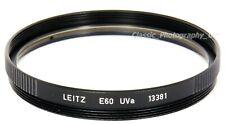 Leitz E60 UVa 13381 60mm Filter NOCTILUX 50/1 NOCTILUX 50/0.95 Summilux-M 75/1.4