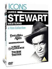 JAME STEWART WESTERNS - DESTRY RIDES AGAIN / SHENANDOAH / TH - DVD - REGION 2 UK
