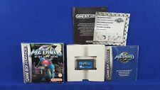 Gameboy Advance METROID FUSION *x Official BOXED & COMPLETE GBA PAL UK