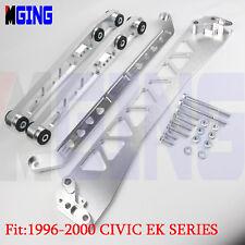 Billet Rear Subframe Brace Control Arm LCA Tie Bar FOR 96-00 Honda Civic BWB EK