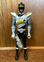 "Black Ranger Power Rangers Dino Super Charge 12"" Action Figure Complete Bandai"