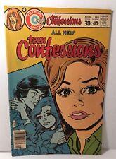 Teen Confessions Old Comic Book Original RARE No. 96 1976 Charlton Comics 30c
