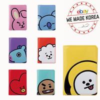 BT21 Character Enamel Passport Cover Case Official K-Pop Authentic Goods