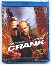 CRANK  **BRAND NEW** Blu-Ray - Jason Statham - Amy Smart - NICE!