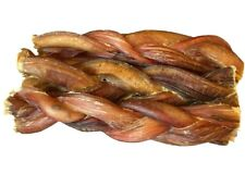 """6"""" inch Braided Bully Sticks For Dogs Excellent Dog Chew And Dog Treat (6 pcs)"""