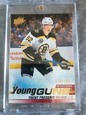 2019-20 Upper Deck Series 2 Young Guns Exclusives #472 TRENT FREDERIC RC /100
