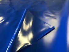 2,59€/m²-5,00 x 2,80m-ca 720gr/m²-Blau mit Ösen-LKW Plane PVC Abdeckplane