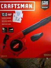 Craftsman CMEBL712 Handheld Blower 410CFM 12.0 AMP Corded VersaTrack COMPT NEW