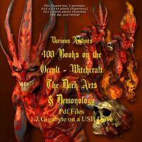 400 Books on Witchcraft, Demonology, Occult, Satanism - USB Drive (Pdf 4.06Gb)