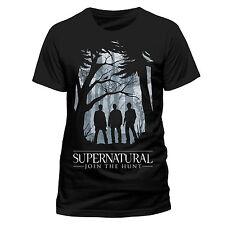 Supernatural T-Shirt Group Outline Größe L - Sam & Dean Winchester & Castiel