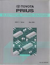 TOYOTA Prius NHW11 (2000) originale della fabbrica diagrammi di cablaggio elettrico manuale