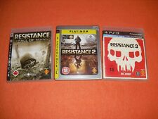 ★★★ Resistance 1-3 | Playstation 3 / Ps3 ★★★