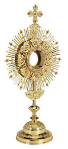 Ornate Monstrance with Case