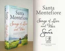 Santa Montefiore - Songs of Love and War - Signed - 1st/1st