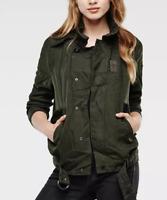 G-Star Flight Jacket Forest Green Ladies Size UK M *REF102