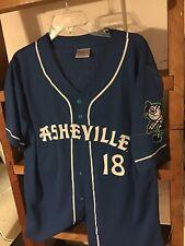 2 New MiLB Asheville Tourists SGA Button Front Baseball Jersey Men L/xl Promo