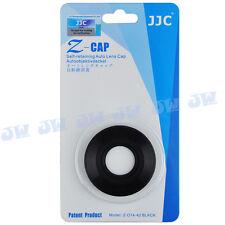 JJC Auto Open Lens Cap for Olympus M.ZUIKO DIGITAL ED 14-42mm f/3.5-5.6 EZ Black