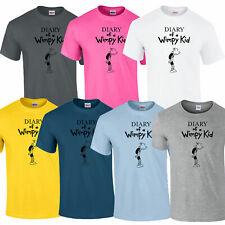 Wimpy Kinder Welttag des Buches Unterstützung Tagebuch T-Shirt Kostüm Erwachsene