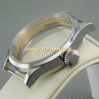 Corgeu 43mm watch case fit ST36 ETA 6497 6498  MOVEMENT P498