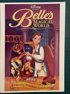 """RARE Belle's Magical World (Disney) - Toys """"R"""" Us VIDPro Display Card"""