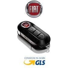 Chiave Telecomando Guscio FIAT 500 L PUNTO EVO PANDA LANCIA MUSA YPSILON + logo