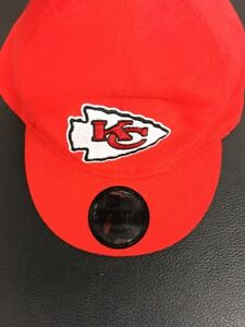 Infant Kids New Era Kansas City Chiefs 9Twenty Sample Adjustable Cap red rare
