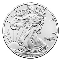 Lot of 500 x 1 oz Random Year American Eagle Silver Coin
