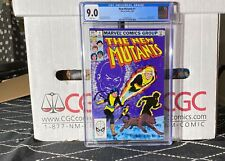 🔥 The New Mutants #1 Cgc 9.0 White Pages! *Not Pressed* See Our Other Auctions
