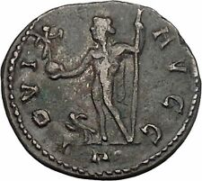 DIOCLETIAN 290AD  Rare Ancient Roman Coin Nude JUPITER Zeus Cult  i45686