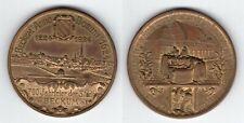 """BRONZEMEDAILLE 1924   """"700 Jahrfeier Beckum""""   (29,5 Gramm)   #632"""