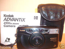 Kodak ADVANTIX 4100ix Zoom Date APS Film Camera ~ 30-60MM lente asferica AF (5JY12)