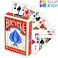 BICYCLE DOUBLE FACE NO BACK STANDARD MAGIC TRICKS CARDS DECK USPCC NEW