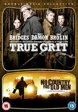 DVD:TRUE GRIT / NO COUNTRY FOR OLD MEN - NEW Region 2 UK
