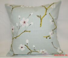 "16"" PRESTIGIOUS TEXTILES CUSHION COVERS. DESIGN ""EMI"" (DUCK EGG). £12 X 4"