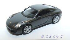 Herpa 038645 Voiture Porsche 911 Carrera 4, Achatgrau Metallic 1:87