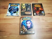 🌟WORLD OF WARCRAFT Bundle🌟Plus Expansion paks and other Stuff Pack🌟