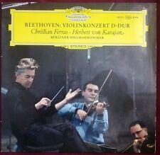 BEETHOVEN - Violinkonzert D-Dur KARAJAN FERRAS LP VINYL DGG 139021 1967