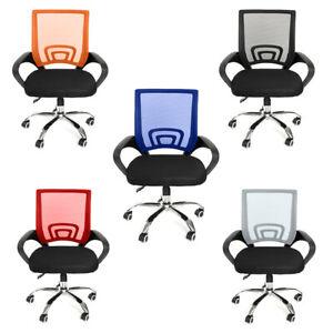 Mesh-Bürostuhl Chefsessel Schreibtischstuhl Kinder Jugend Drehstuhl Stoff Stuhl