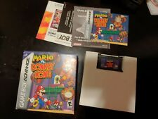Nintendo Gameboy Advance Gba Game Mario Vs Donkey Kong Complete In Box
