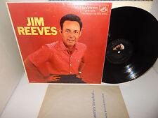 JIM REEVES S/T 1957 RCA LPM 1576 Mono Silver Letter DG 1s/5s RARE LP EXC