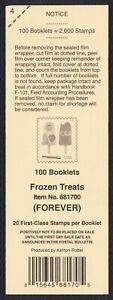 #5294b Frozen Treats, Deck Card ANY 5=