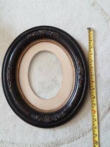 Ornate Vintage Oval Picture Frame