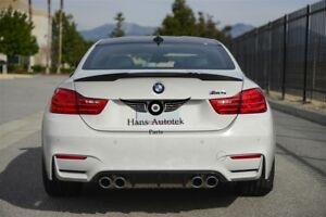 Carbon Fiber Rear Trunk Spoiler Performance Style FOR BMW M4 F82 Coupe  2014-up