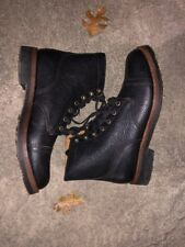 Polo Country Ralph Lauren Men's Enville All Leather Boots Black 9.5M - MSR $225