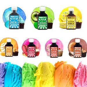 MAX COLOR Lebensmittelfarbe 30ml für Macaron Getränken Farbe Farbstoff