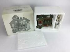 Dept 56 New England Village McGrebe Cutters & Sleighs #56405 w Light Cord