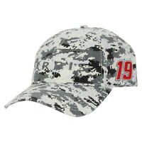 Carl Edwards #19 NASCAR The Game ARRIS Racing Gasket Digi Camo Adjustable Hat
